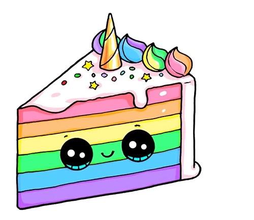 Красивые рисунки тортов для срисовки002