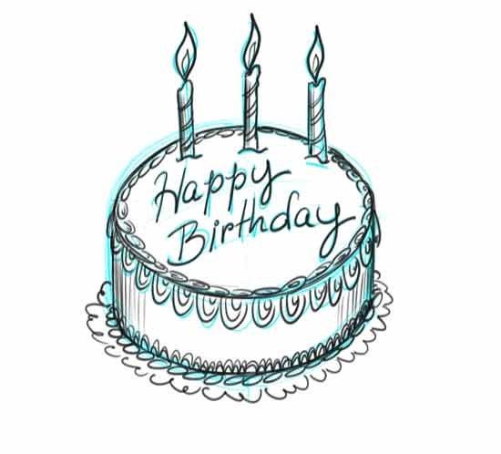 Красивые рисунки тортов для срисовки003