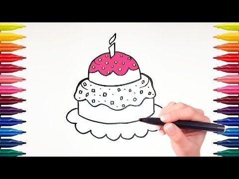 Красивые рисунки тортов для срисовки009