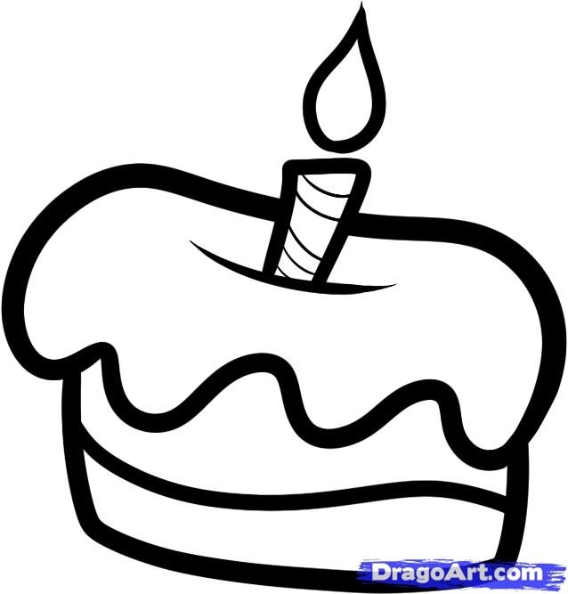 Красивые рисунки тортов для срисовки011