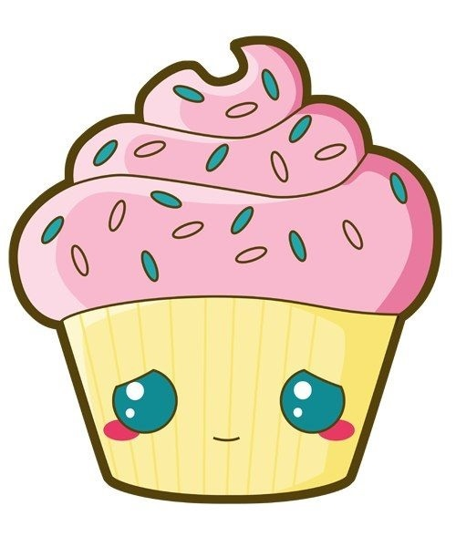 Красивые рисунки тортов для срисовки012