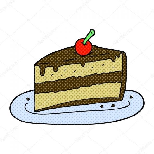 Красивые рисунки тортов для срисовки017