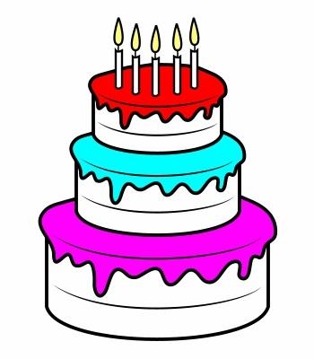Красивые рисунки тортов для срисовки020