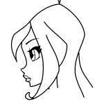 Красивые рисунки фей Винкс для срисовки