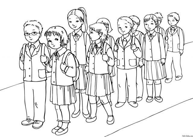 Красивые рисунки школы для срисовки006