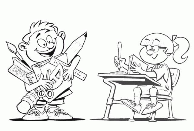Красивые рисунки школы для срисовки010