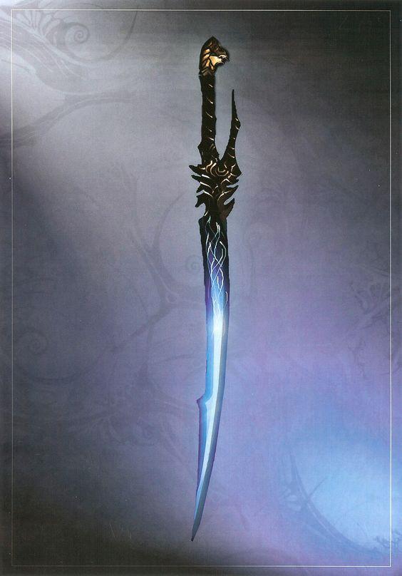 Красивые рисунки щитов и мечей для срисовки (15)