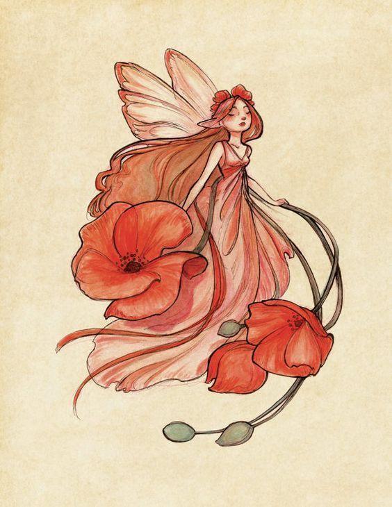 Красивые рисунки эльфов для срисовки (17)