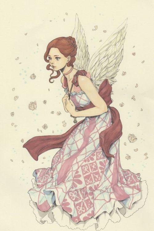 Красивые рисунки эльфов для срисовки (7)