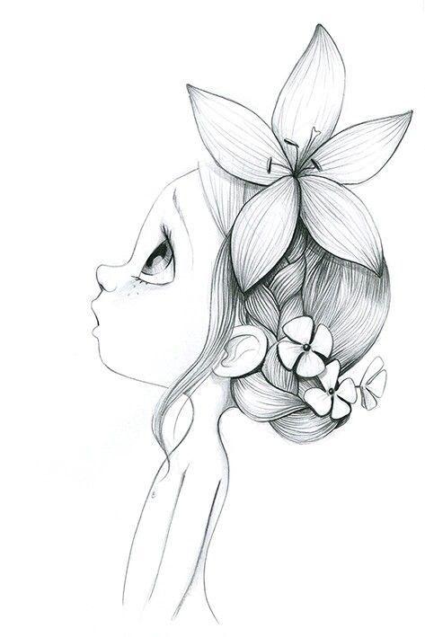 Красивые рисунки эскизов для срисовки001