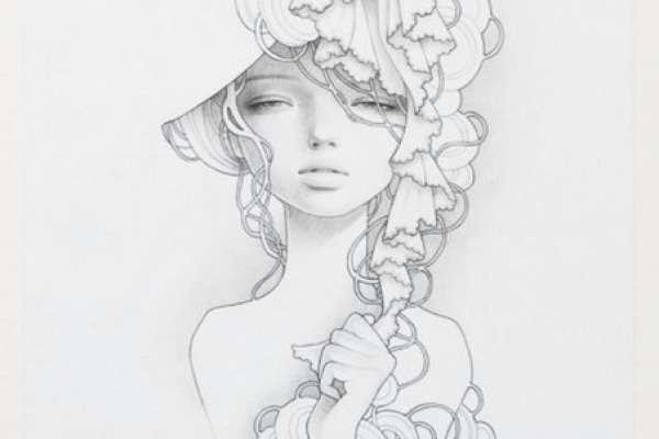 Красивые рисунки эскизов для срисовки020