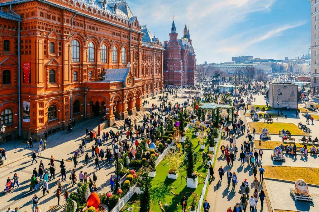 Красивые фото Москвы в ноябре 2019 года (2)