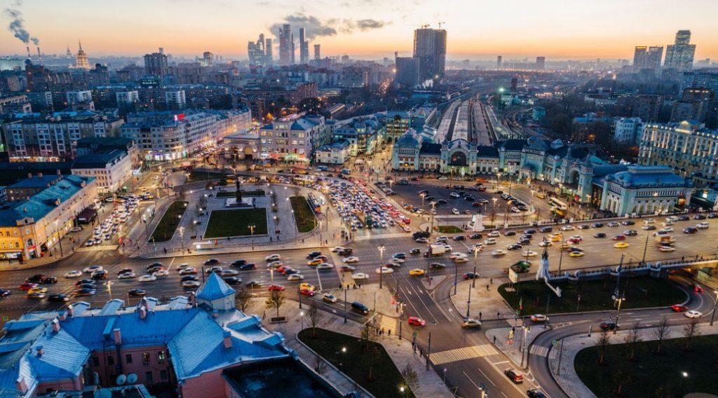 Красивые фото Москвы в ноябре 2019 года (5)