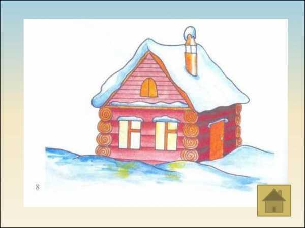 Красивый рисунок карандашом зимы (17)