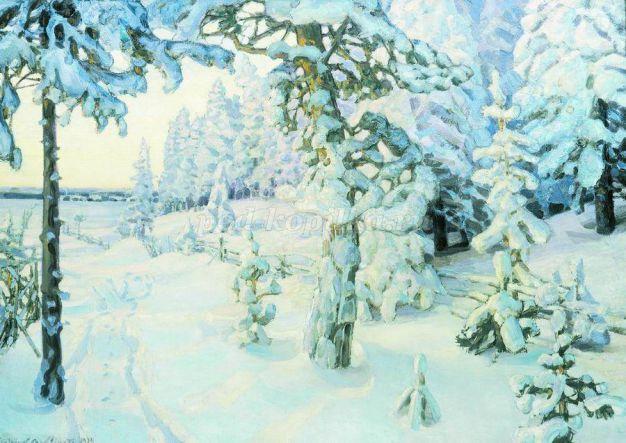Красивый рисунок красота зимы (11)