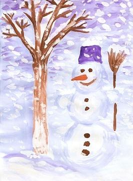 Красивый рисунок красота зимы (16)