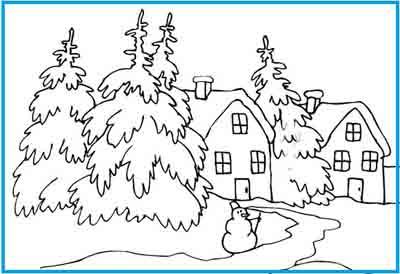Красивый рисунок красота зимы (19)