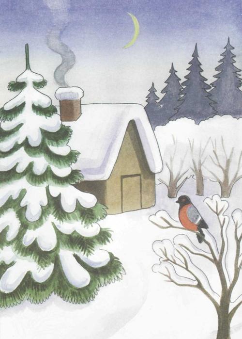 Красивый рисунок красота зимы (22)
