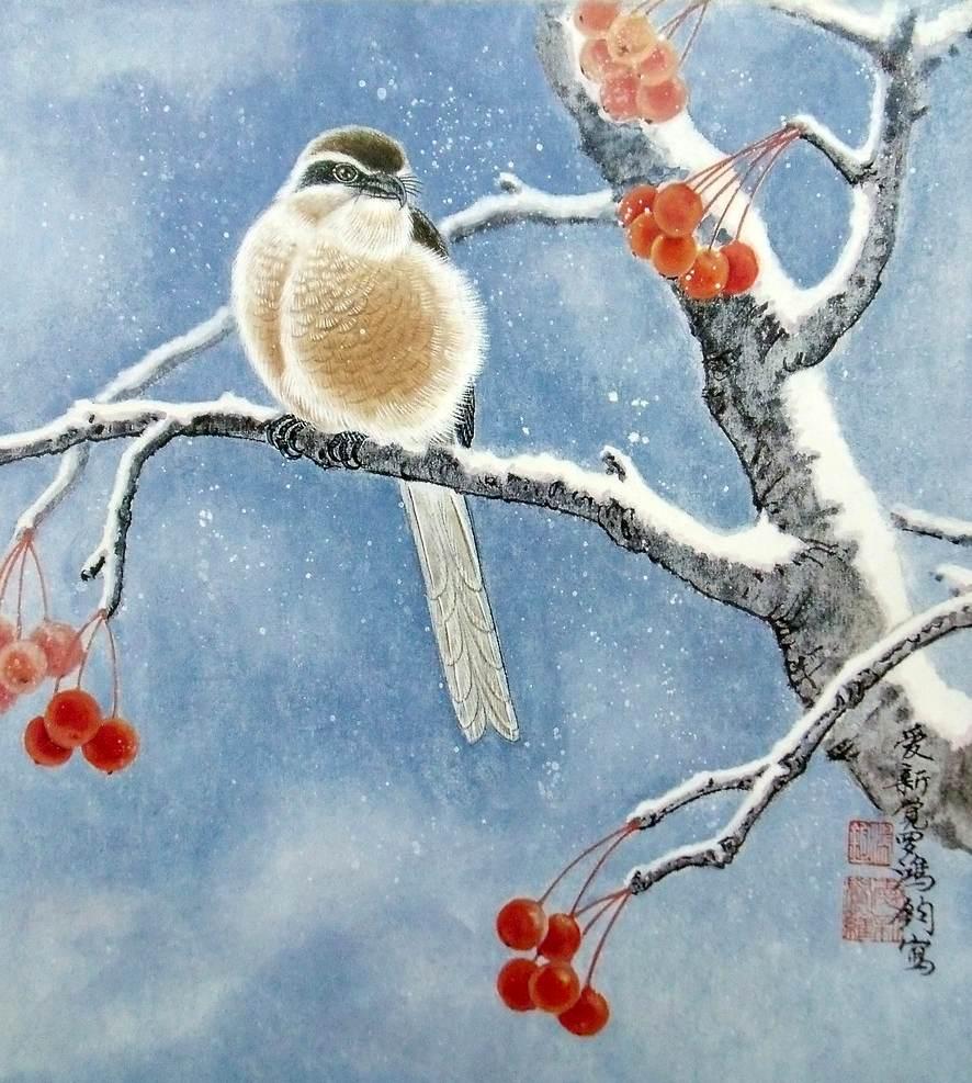 Красивый рисунок красота зимы (27)