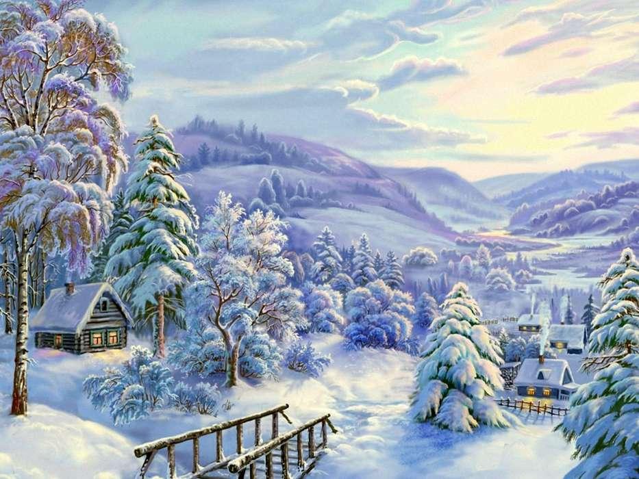 Красивый рисунок красота зимы (6)