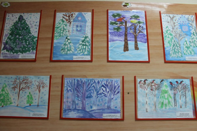 Красивый рисунок красота зимы (8)
