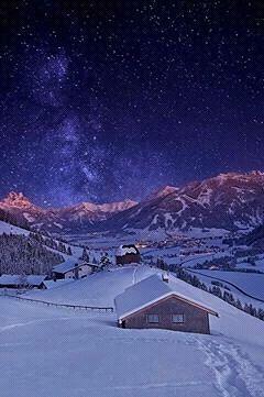 Лучшие картинки зимы на телефон (3)