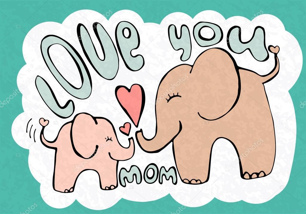 Милые картинки на день мамы - подборка открыток (1)