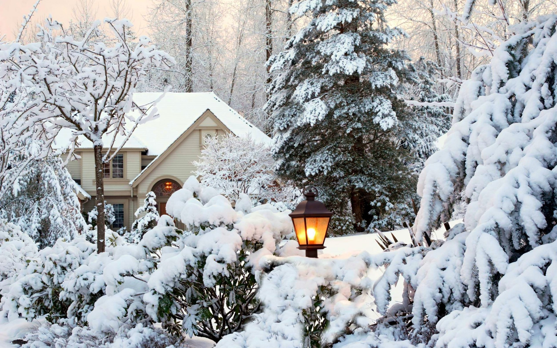 Обои начало зимы на рабочий стол (12)