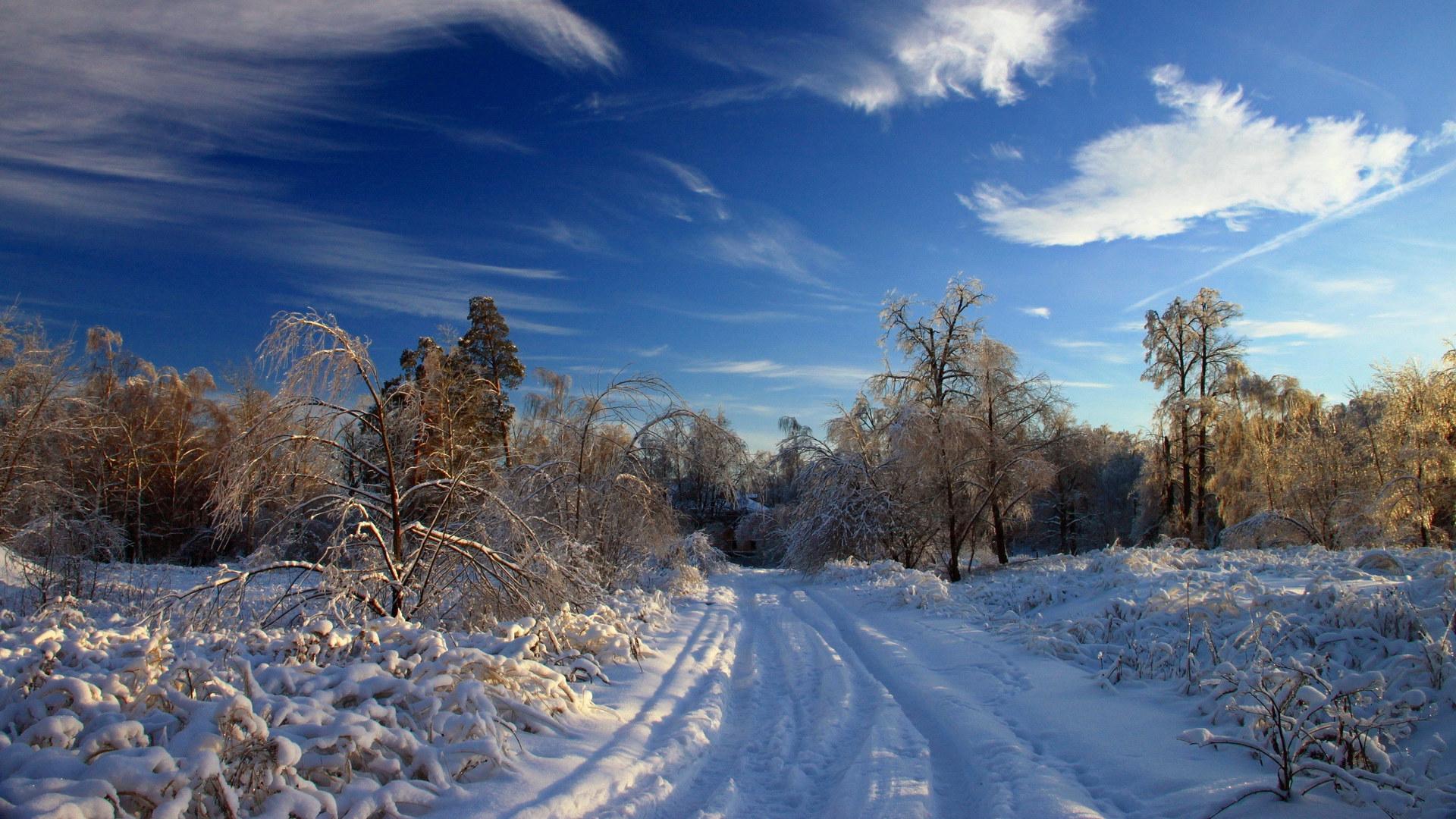 Обои начало зимы на рабочий стол (14)