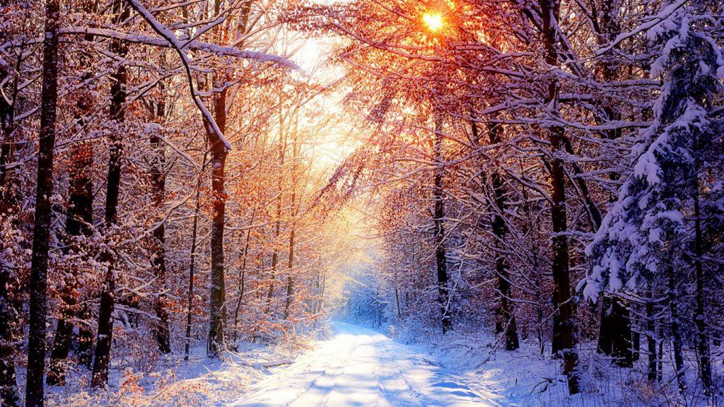 Обои начало зимы на рабочий стол (15)