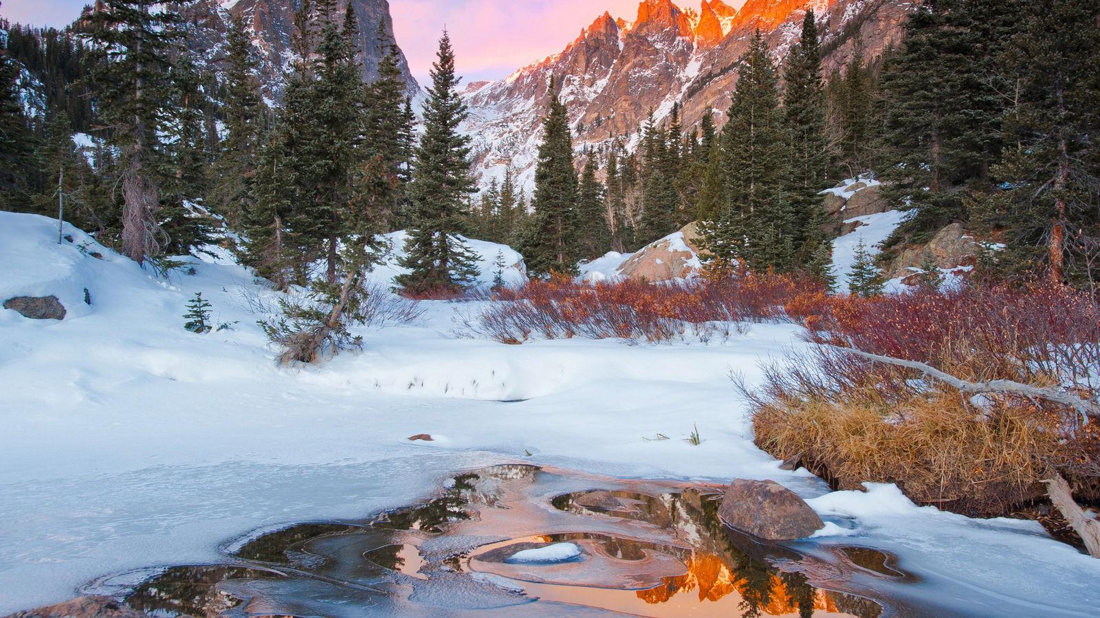 Обои начало зимы на рабочий стол (19)