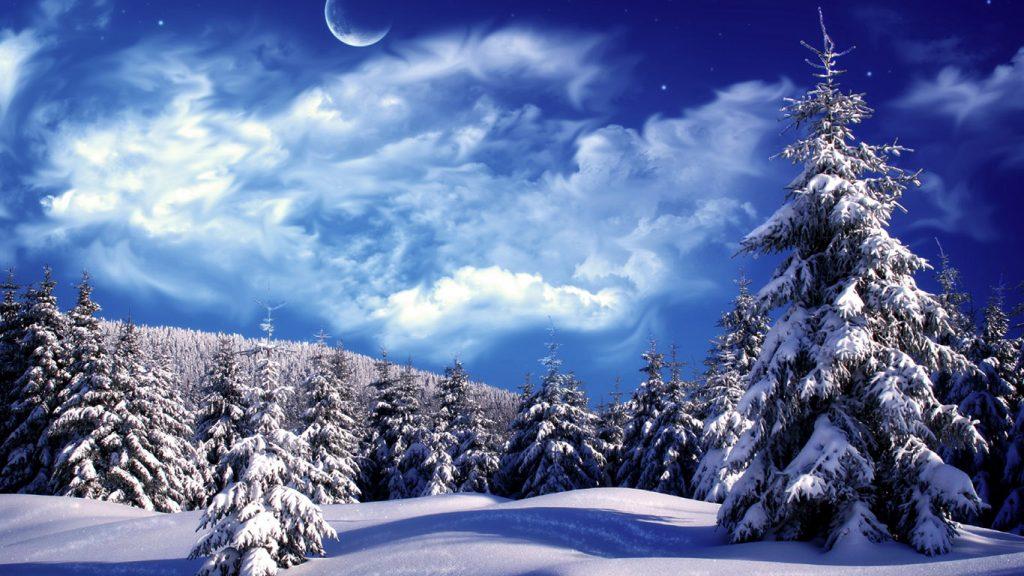 Обои начало зимы на рабочий стол (2)
