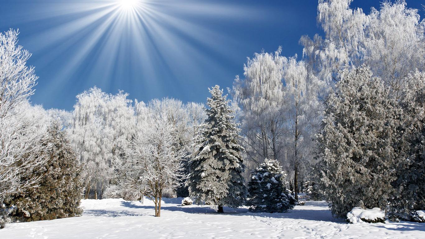 Обои начало зимы на рабочий стол (20)