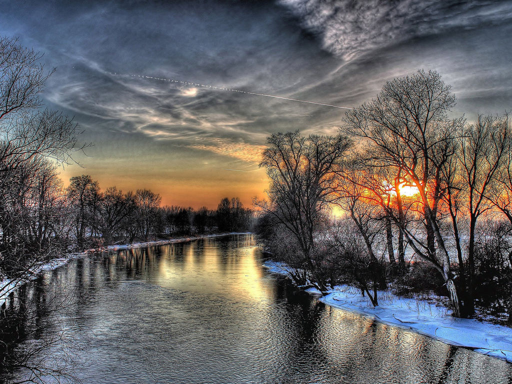 Обои начало зимы на рабочий стол (3)