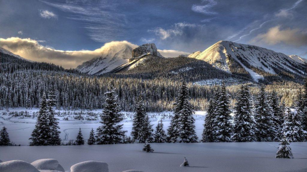 Обои начало зимы на рабочий стол (4)