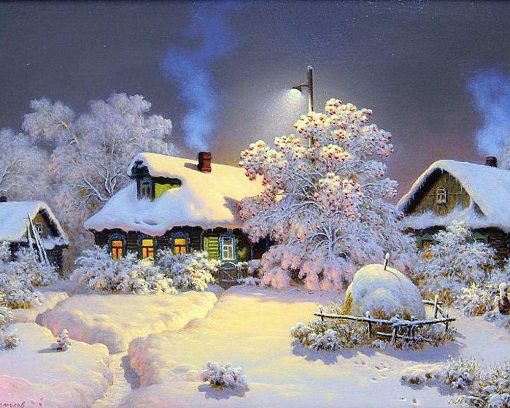 Обои начало зимы на рабочий стол (9)