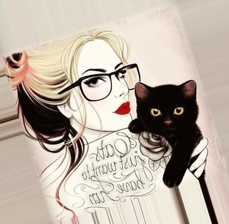 Оригинальные картинки на аватарку для девушек017
