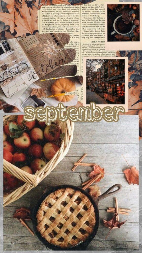 Осень обои на Айфон красивые (1)