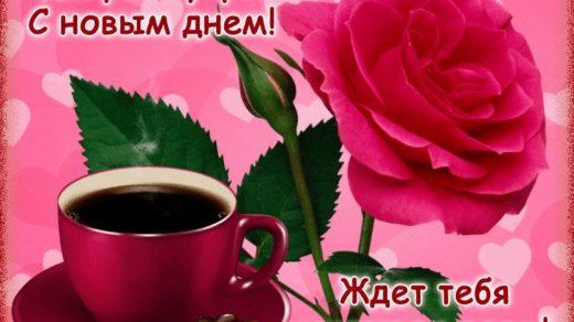 Прекрасные картинки с пожеланием доброго утра018