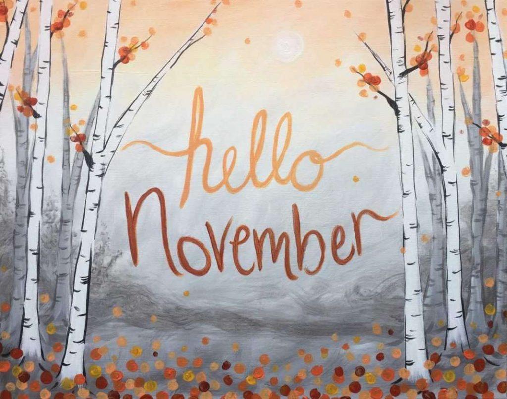 Привет ноябрь картинки (11)