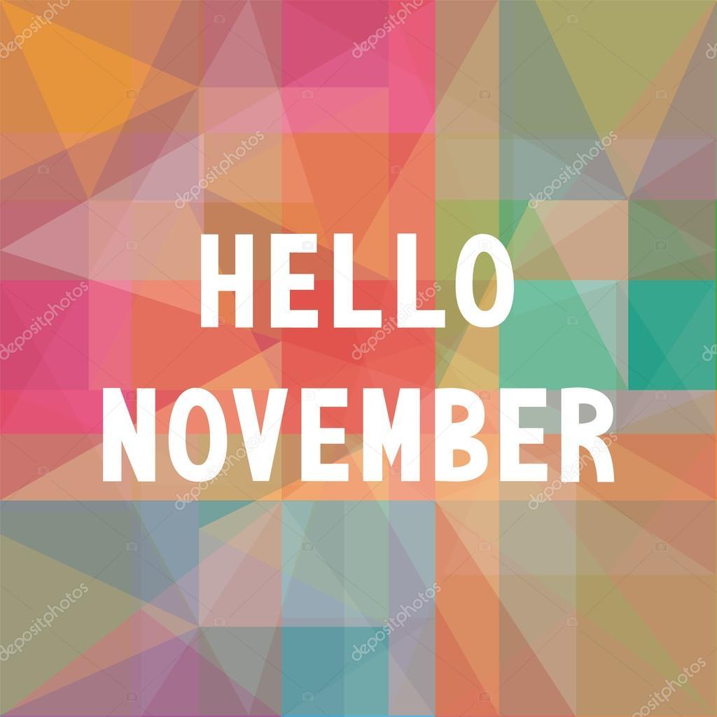 Привет ноябрь картинки (12)