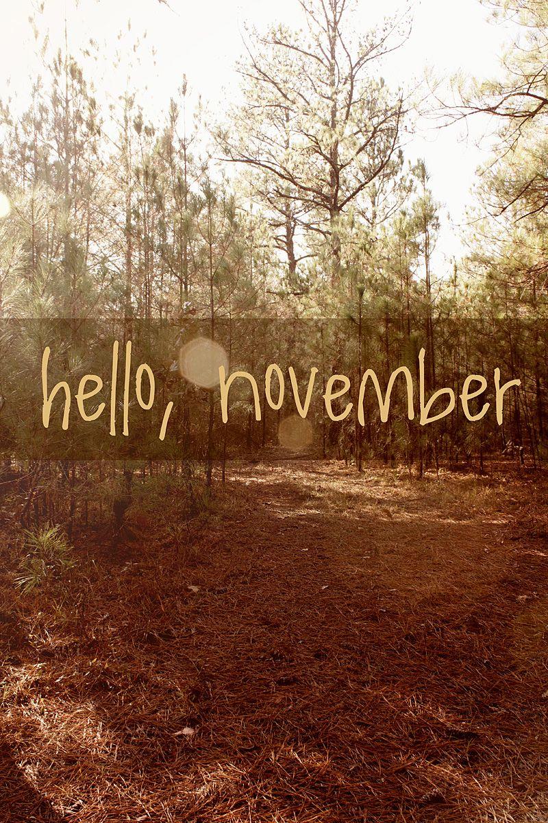 Привет ноябрь картинки (14)