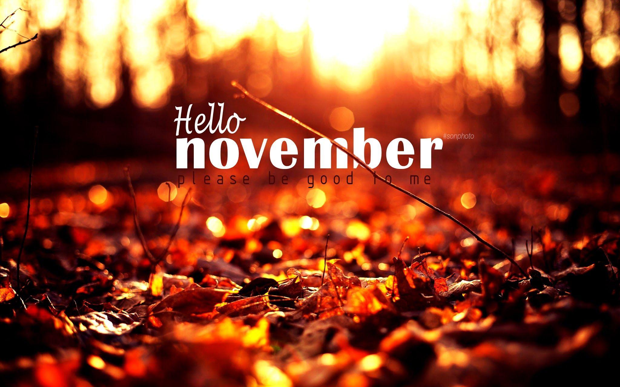 Привет ноябрь картинки (16)