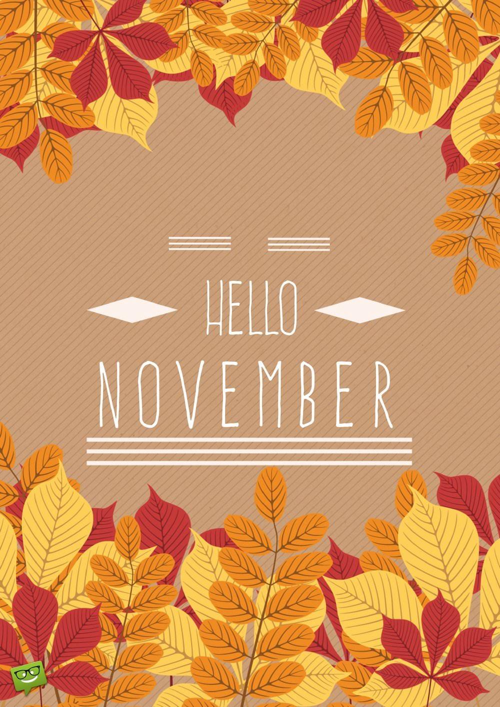 Привет ноябрь картинки (18)
