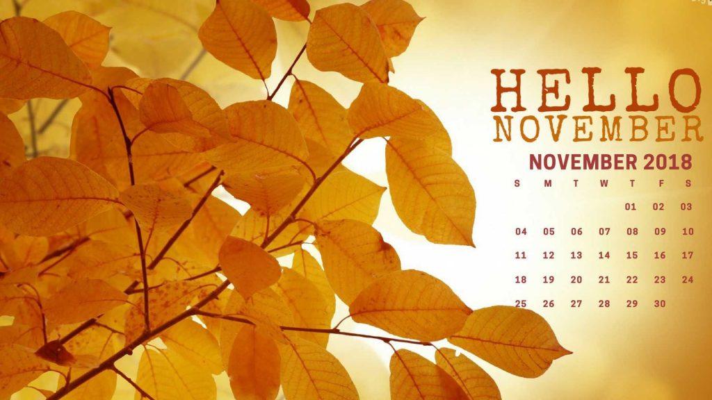 Привет ноябрь картинки (2)