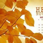 Привет ноябрь картинки