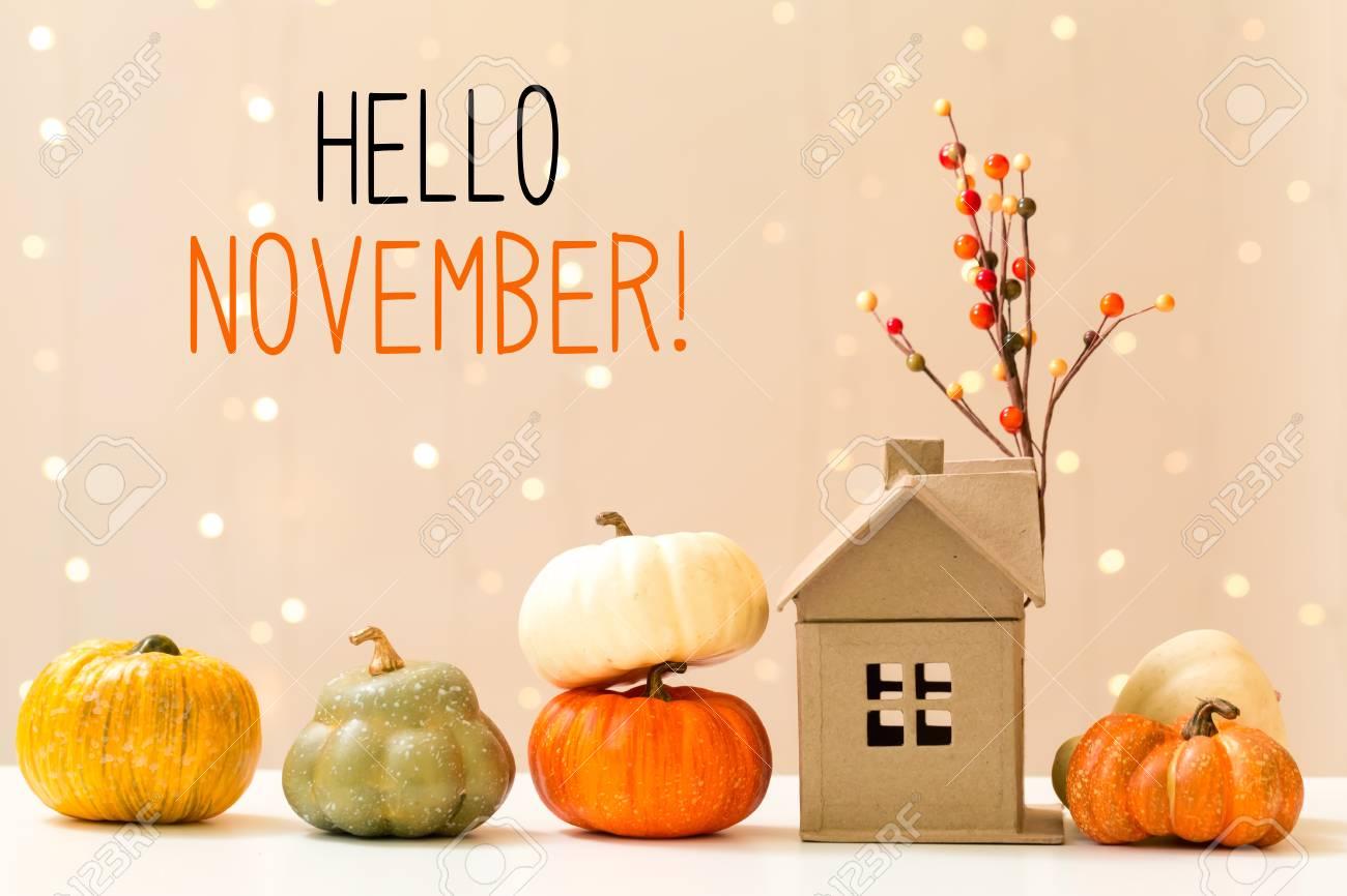 Привет ноябрь картинки (6)