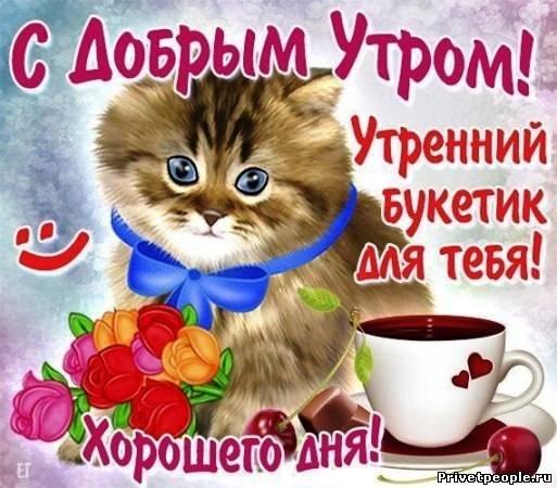 Прикольные поздравления с добрым утром 010