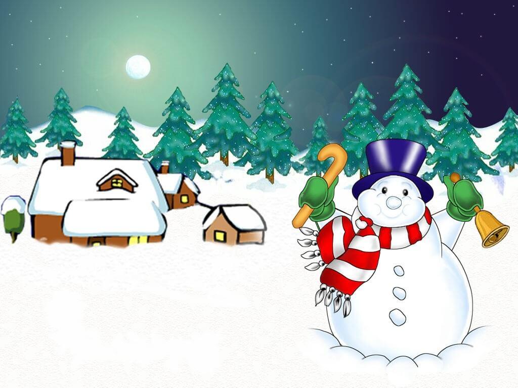Рисунки зимы для детей 2 класса (19)
