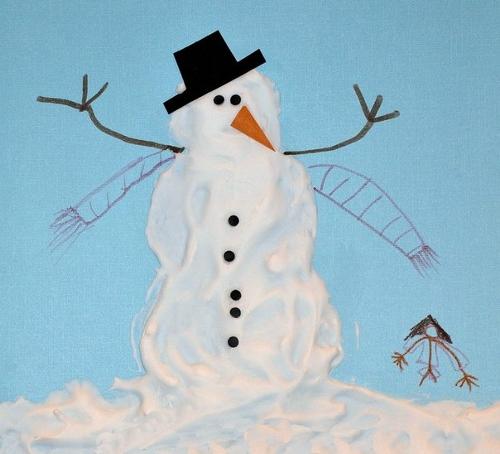 Рисунки зимы для детей 2 класса (20)